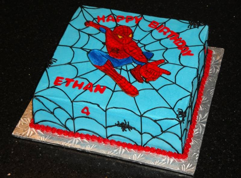 Spiderman Cake for Ethan