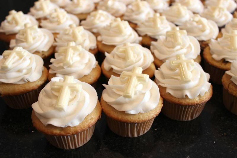 Baptism Cupcakes