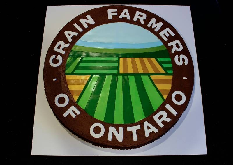 Grain Farmers of Ontario 5th Anniversary Cake