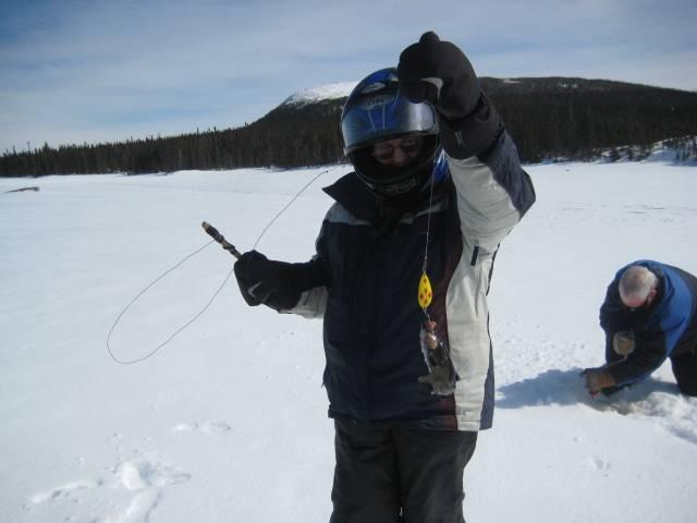 Ice fishing Easter Weekend!