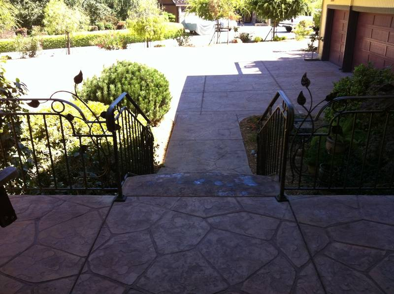 Flagstone Pattern on Porch