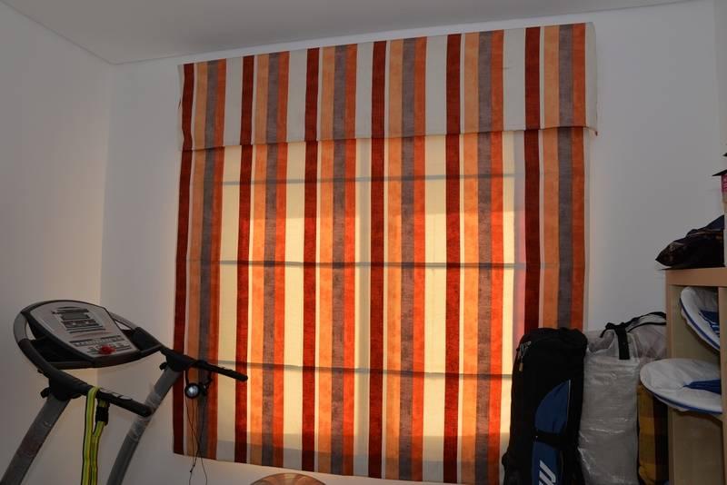 Roman Blind plus pelmet for downstairs bedroom/storeroom