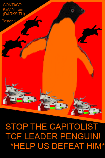 KEVIN'S CAMPAIGN POSTER