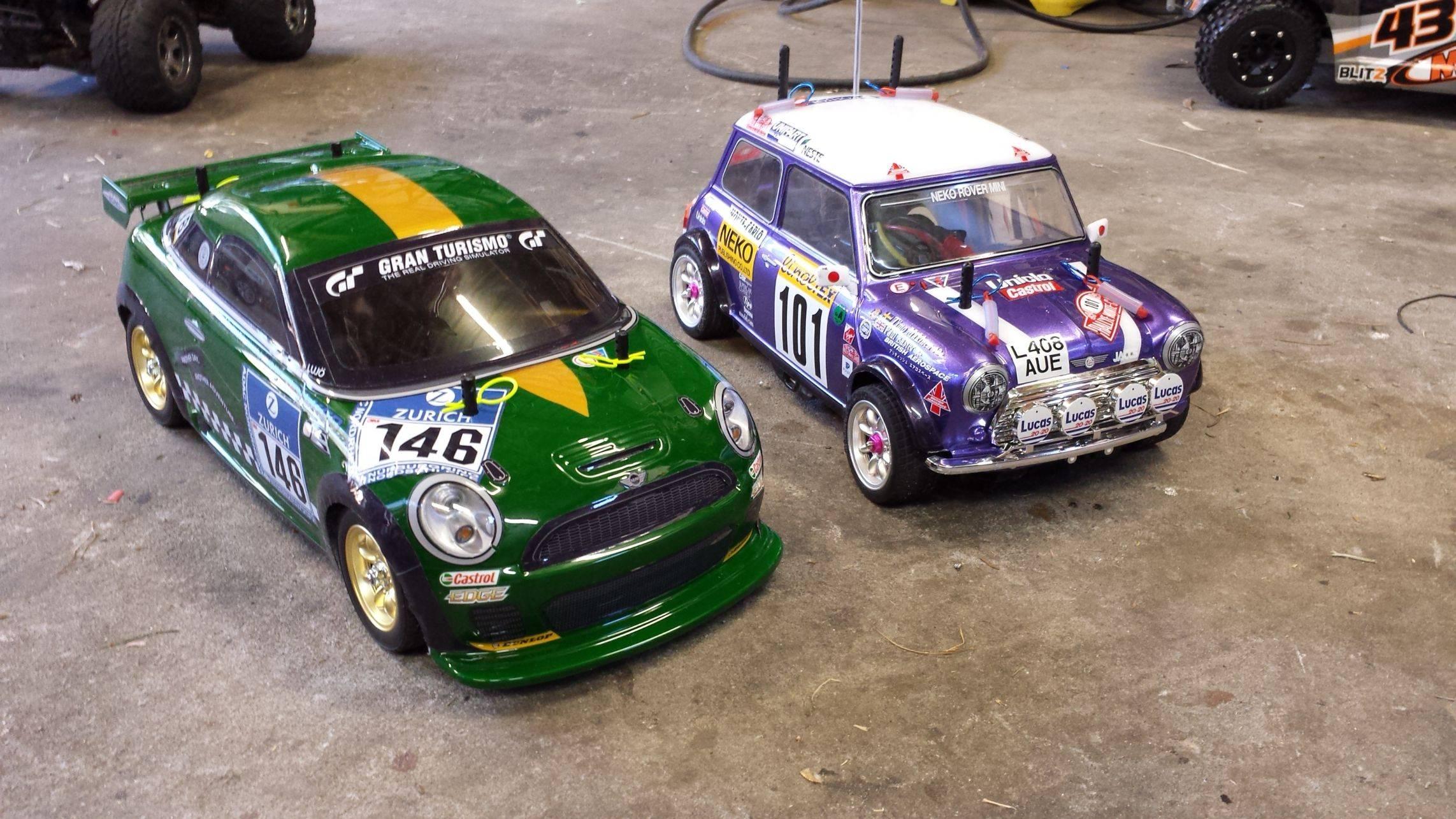 2x Mini M05 SWB and LWB