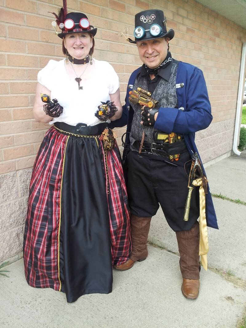 Our First Steampunk Outfits