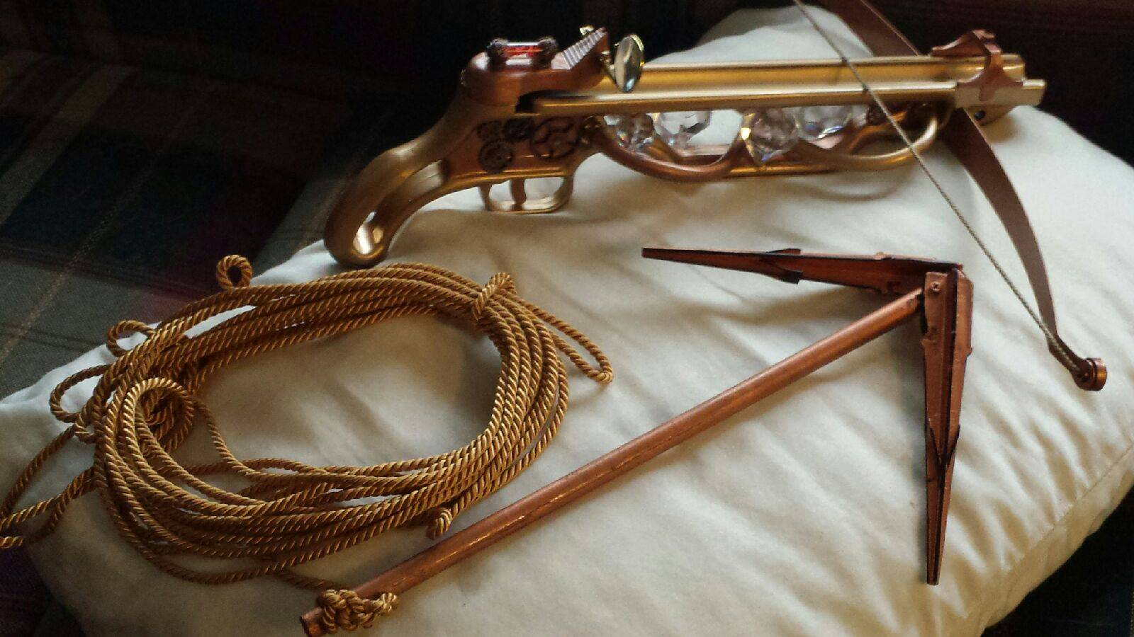 Helen's New Crossbow Grappling Hook
