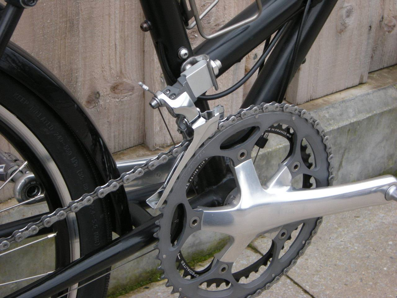 Chainset and front mech
