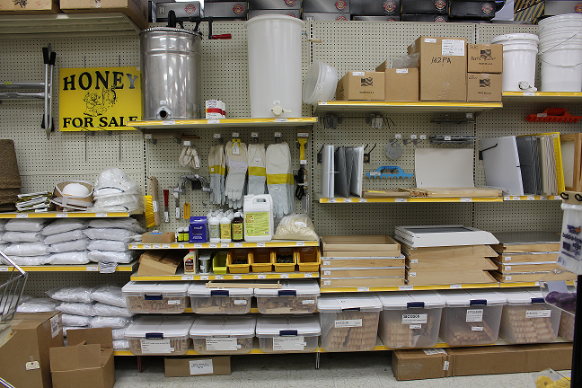 Expanded Beekeeping Section
