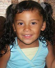 Breeann Rodriguez 3 years old August 6th,2011