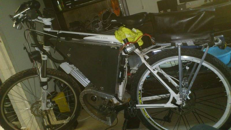 A second version of the bike