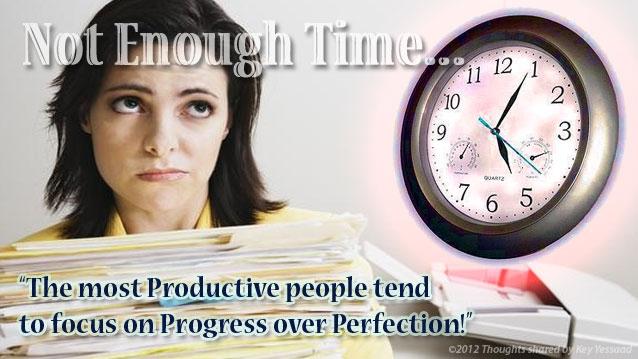 Not Enough Time...