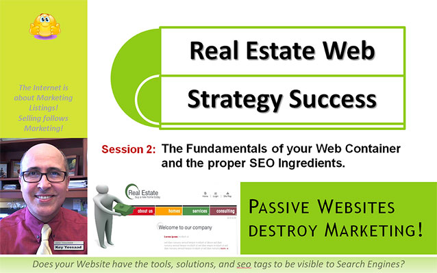 The Fundamentals of your Real Estate Web Container - Web Strategy Success Session 2