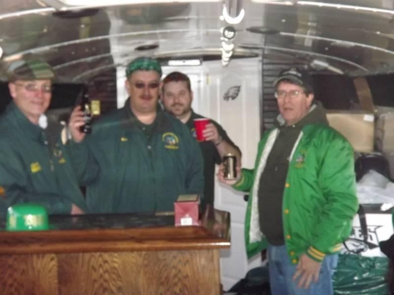 Inside the Shamrock Shuttle