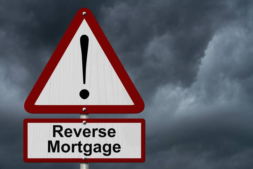 A Reverse Mortgage Could be Wrong Direction