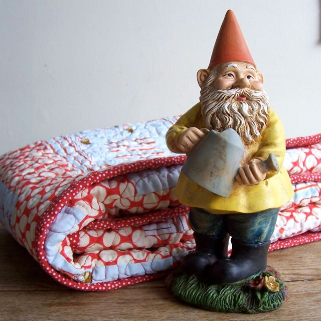 Heather Ross Gnomes Baby Quilt