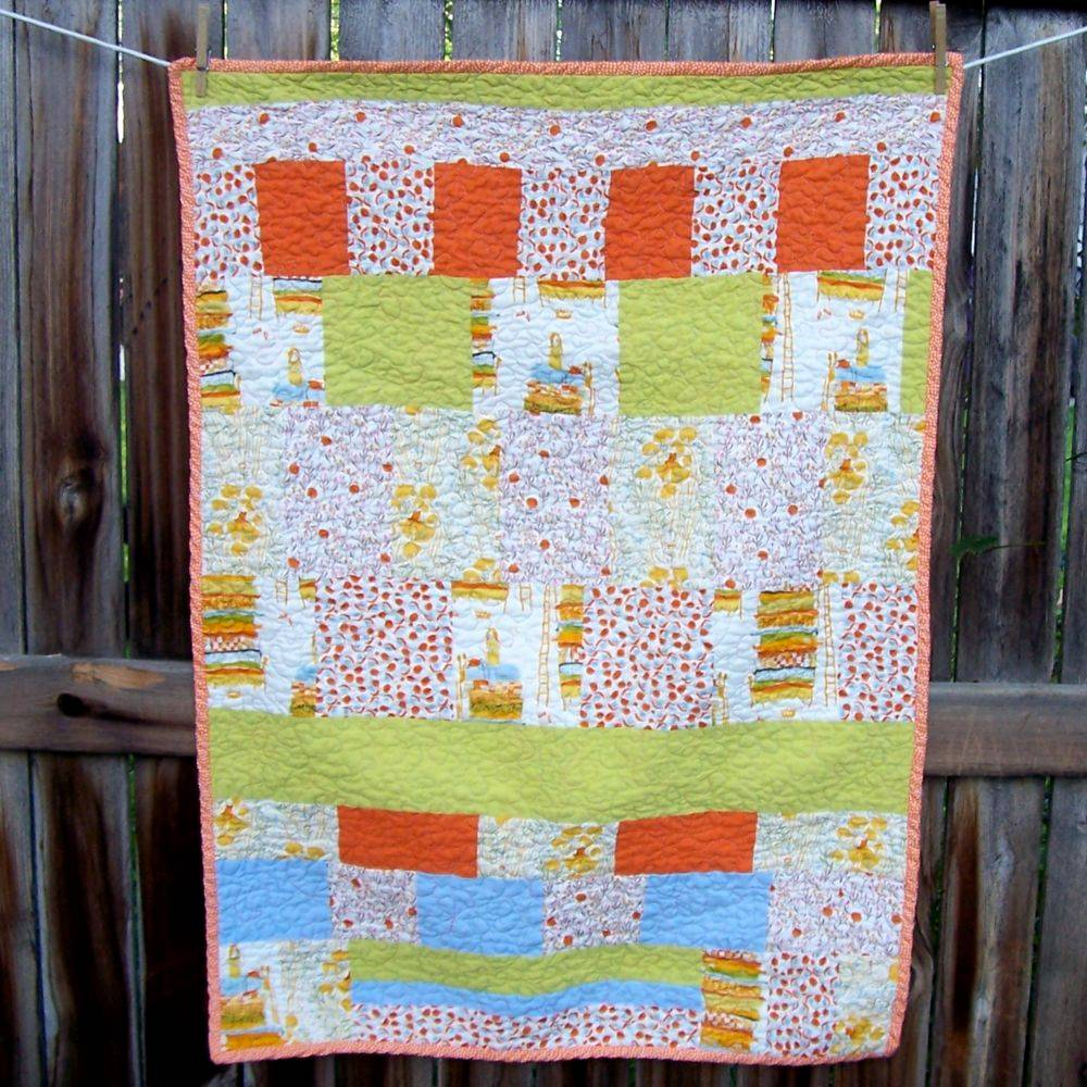 Heather Ross Far Far Away quilt