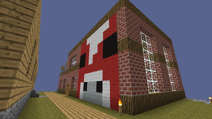 My First House on the server