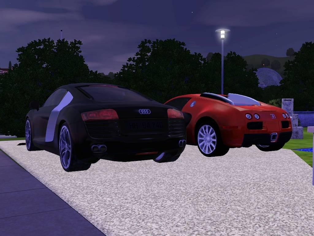 audi R8 & Bugatti veyron