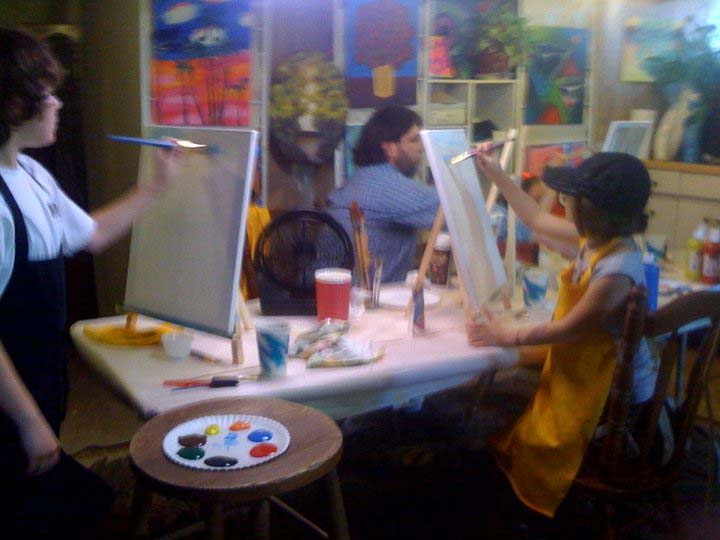 Painting Class Photos