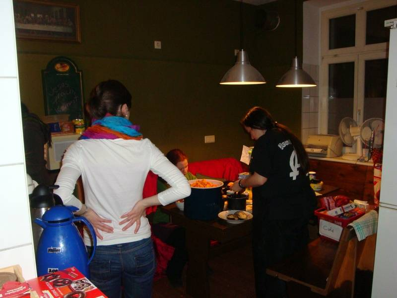 cooking for café christmas 2012