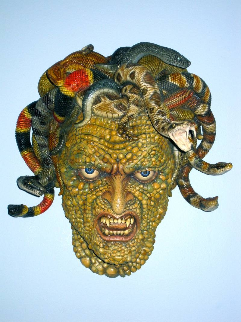 Ray Harryhausen's Medusa from Clash of the Titans
