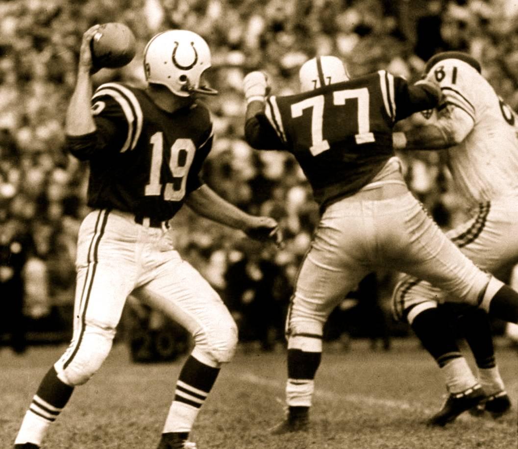 Johnny U. Jim Parker & Doug Atkins