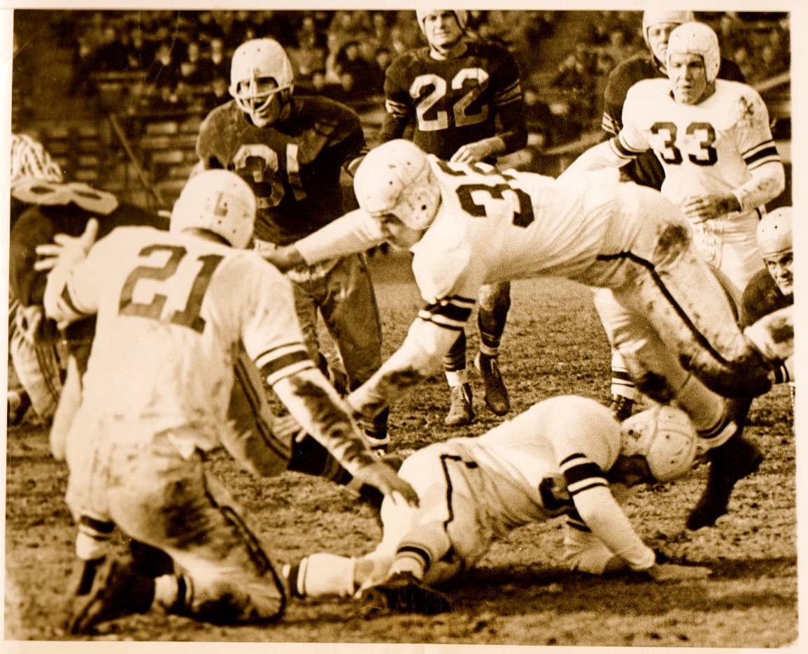 1946 AAFC 49ers at the Brooklyn Dodgers