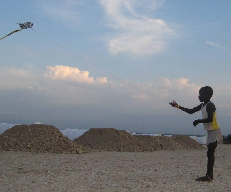 Child with Kite  ©2010 John Elliott