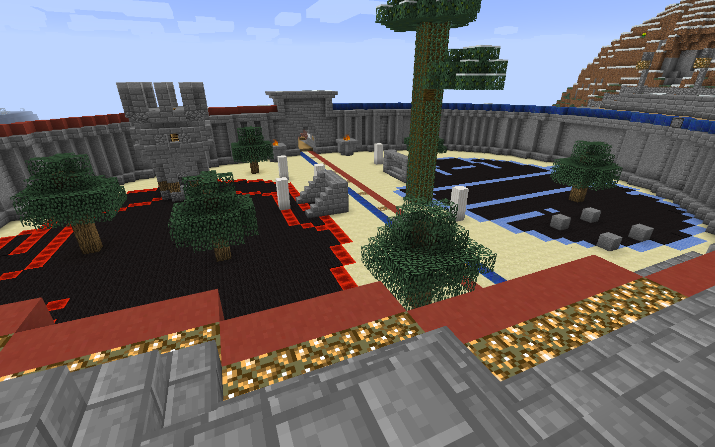 The PVP arena