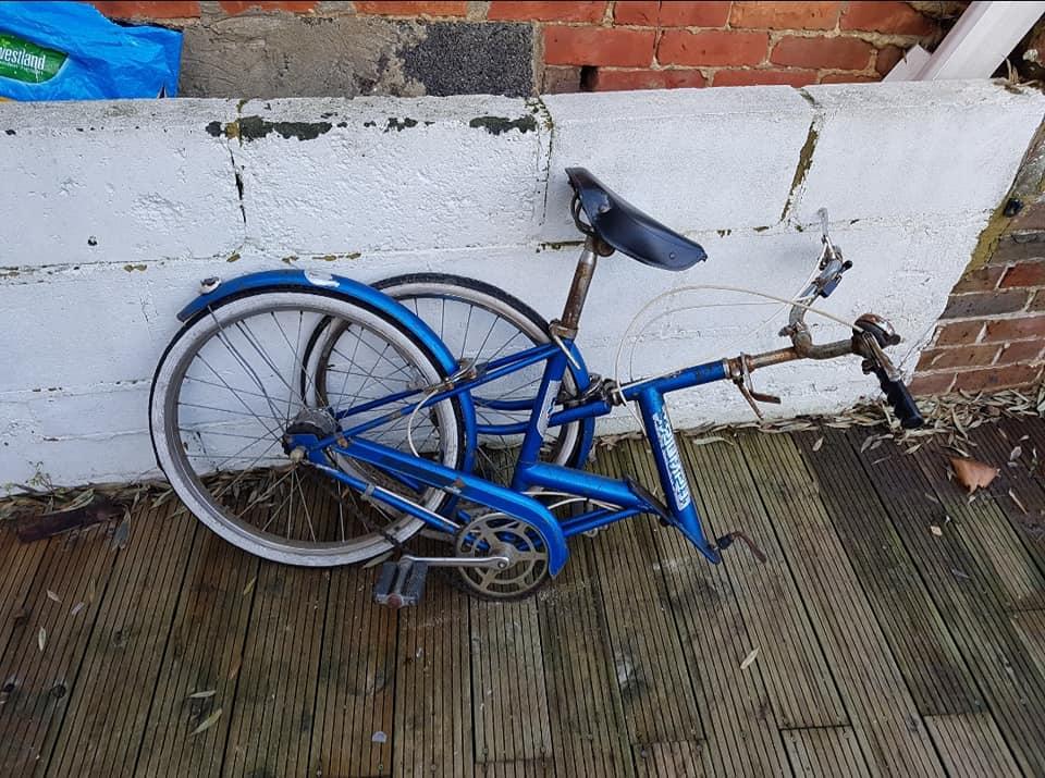 New camping bike.