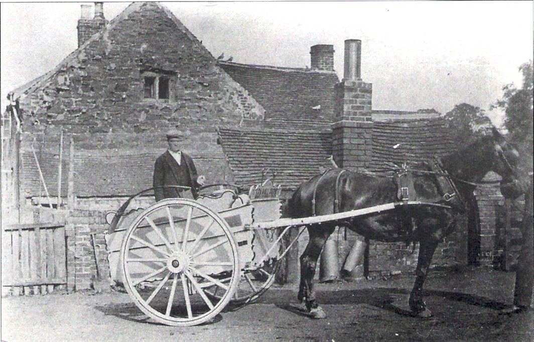 Milk Delivery. 1902.