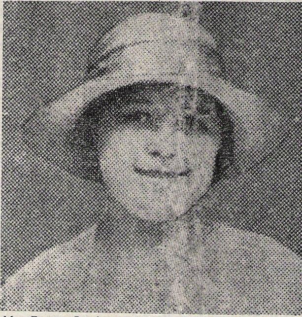Frances Rowbottom. 1931.