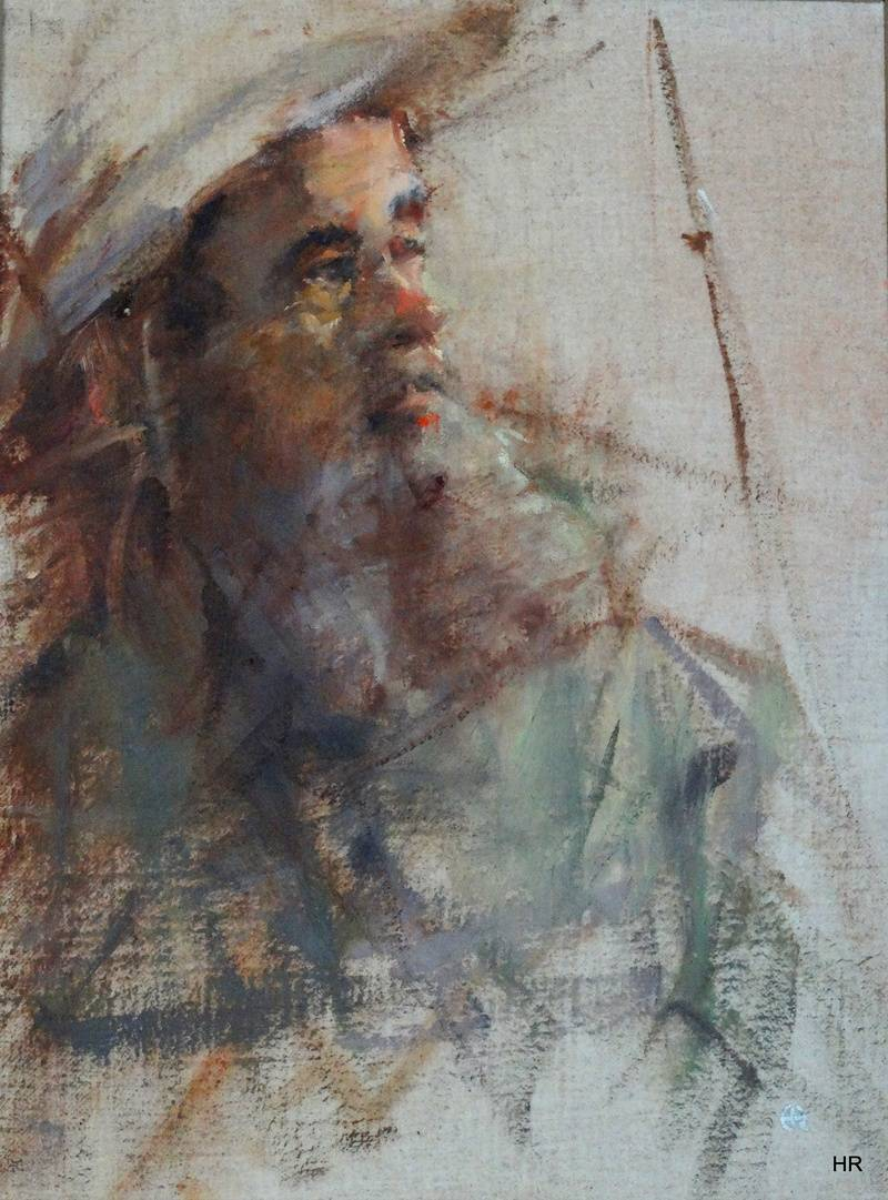 AN OLD FISHERMAN