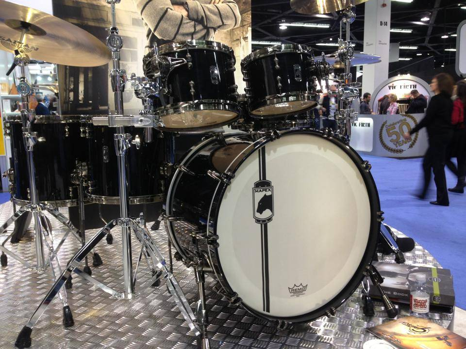 The Mapex Black Widow kit