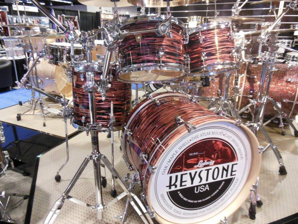 Nice retro finish on a Keystone kit.
