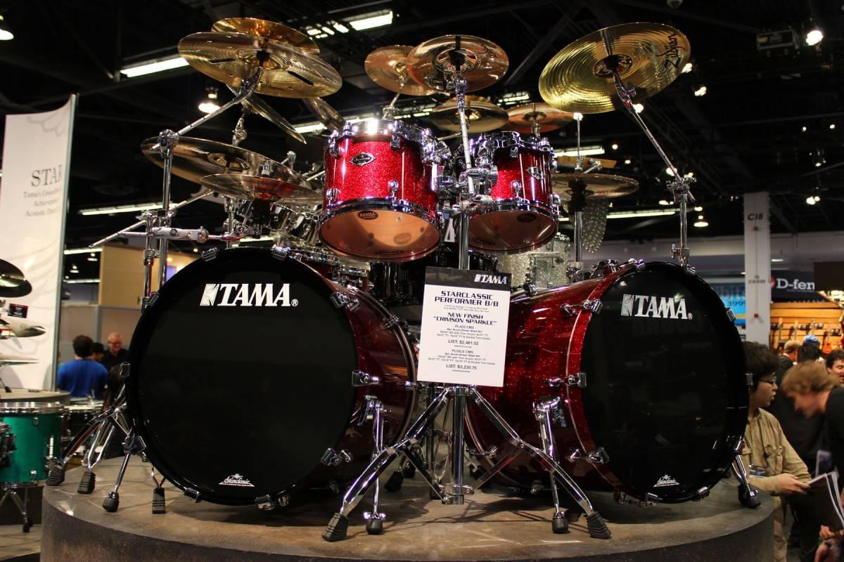 Tama Starclassic B/B dbl bass kit.