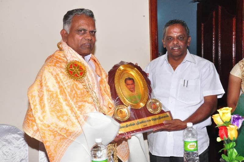 Honor to Mr. Paramasivam