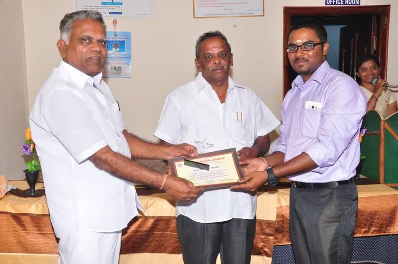 Honor to Mr. Naveen Kumar E