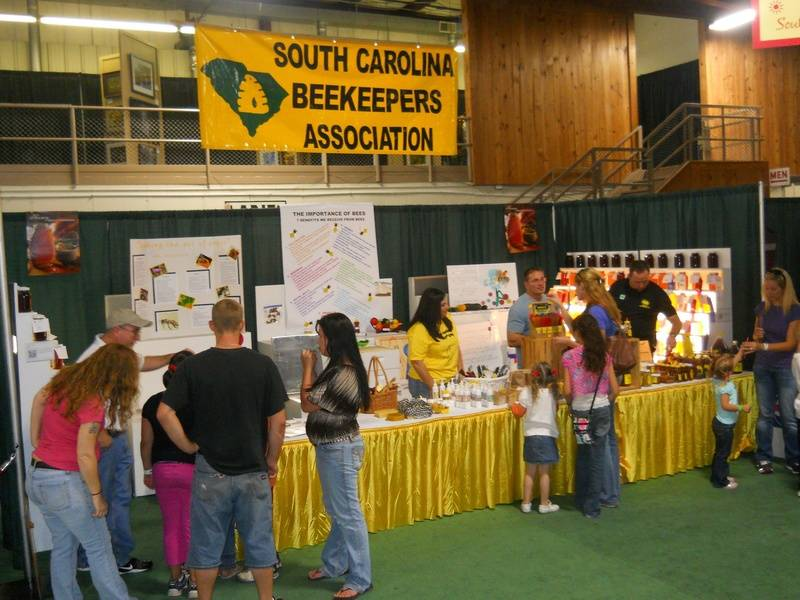 SC Beekeepers Association Booth