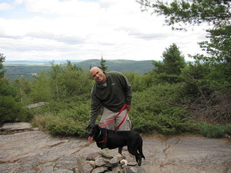 sept 2010 - packmondanock hike
