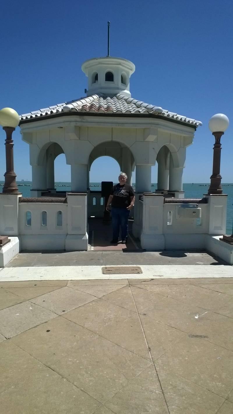 sea wall watch towers