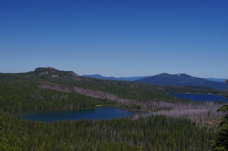 Olallie and Monon Lakes
