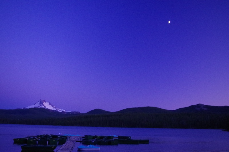 Olallie Lake sunset