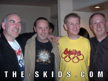 Malc - Mike -  Pete -  Bill - Dunfermline 2006