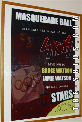 Masquerade Ball Signed