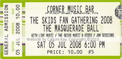 Skids Fan Gathering 05.07.08