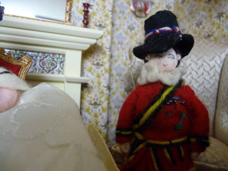 Dexter Shorthorn the Beefeater, known to all simply as Beefy, was feeling a little smug too, truth be told.