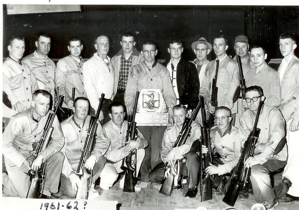 1962 Ithaca Rifle Team