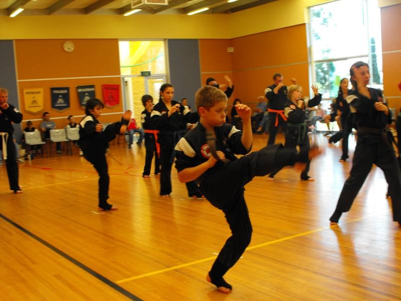Sensei Peter's son Jack's Black Belt Grading