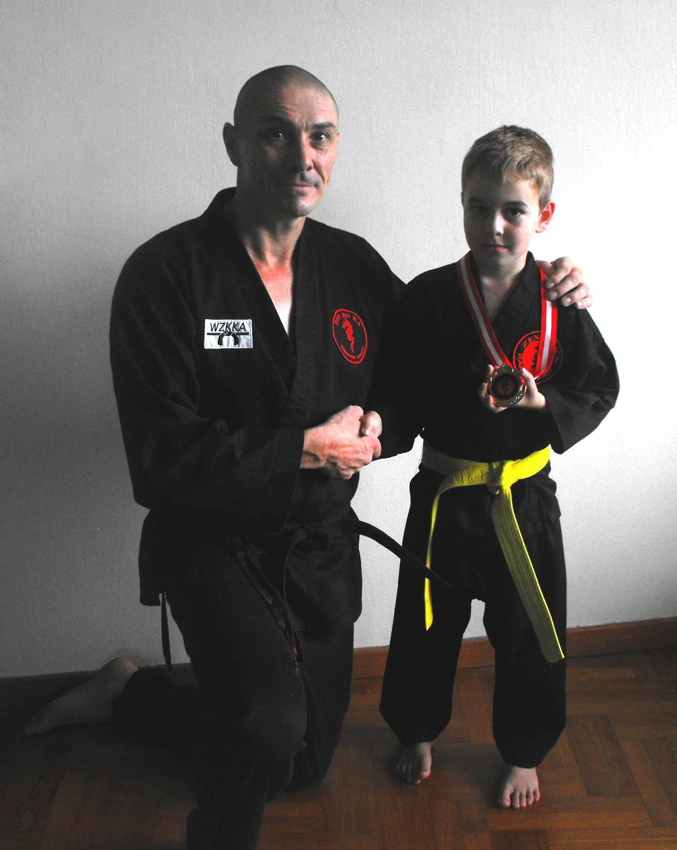 Joseph Red Dragon Award Medal Winner